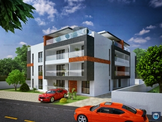 Apartament 2 camere de vanzare, zona Albert, 54.29 mp