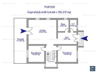 Vila cu 5 camere de vanzare in Strejnicu, 180.67 mp