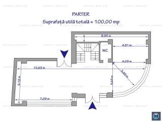 Spatiu  birouri de inchiriat, zona Ultracentral, 400 mp