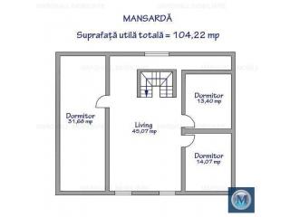Vila cu 11 camere de vanzare, zona Exterior Est, 336.31 mp