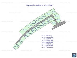 Teren intravilan de vanzare in Cocosesti, 4421 mp
