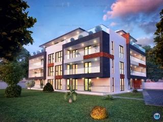 Apartament 3 camere de vanzare, zona Albert, 68.07 mp