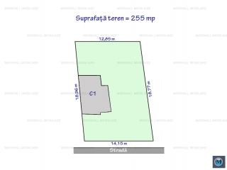 Teren intravilan de vanzare, zona Andrei Muresanu, 255 mp