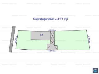 Teren intravilan de vanzare, zona Buna Vestire, 471 mp