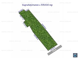 Teren intravilan de vanzare, zona Exterior Vest, 33000 mp