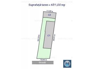 Vila cu 7 camere de vanzare, zona Buna Vestire, 147.19 mp