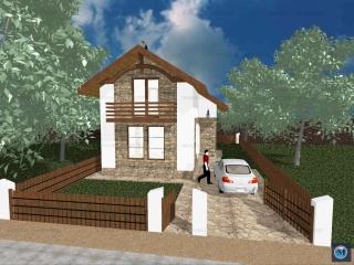 Vila cu 3 camere de vanzare in Strejnicu, 83.2 mp