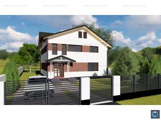 Vila cu 6 camere de vanzare in Ploiestiori, 236.8 mp