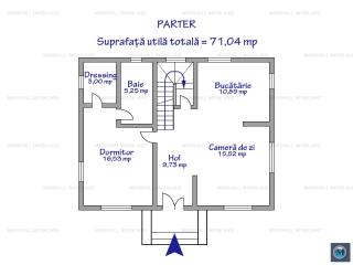 Vila cu 4 camere de vanzare in Bucov, 139.40 mp