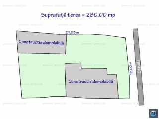 Teren intravilan de vanzare, zona Lupeni, 280 mp
