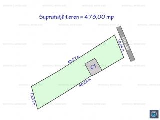 Teren intravilan de vanzare in Ploiestiori, 473 mp