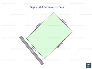 Teren intravilan de vanzare in Strejnicu, 550 mp
