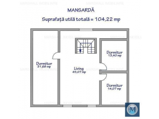 Vila cu 11 camere de vanzare in Bucov, 336.31 mp