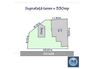 Vila cu 7 camere de vanzare, zona Republicii, 186.72 mp