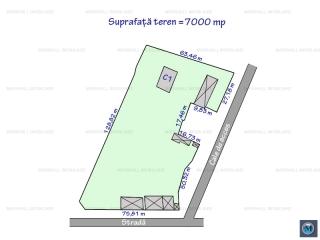 Teren intravilan de vanzare, zona Sud, 7000 mp
