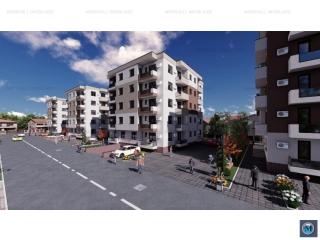 Apartament 2 camere de vanzare, zona Albert, 54.32 mp