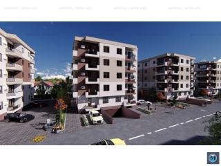 Apartament 2 camere de vanzare, zona Albert, 54.6 mp