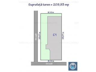 Vila cu 6 camere de vanzare, zona Central, 197.35 mp