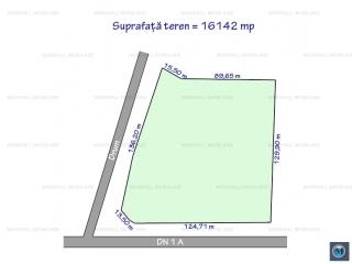 Teren intravilan de vanzare, zona Exterior Est, 16142 mp