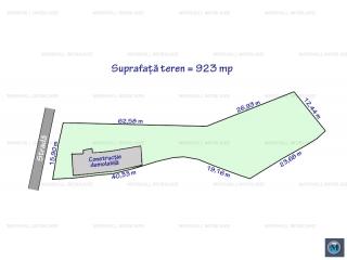 Teren intravilan de vanzare in Bucov, 923 mp