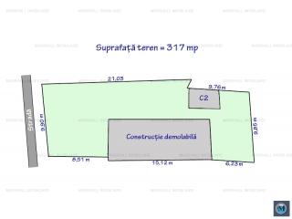 Teren intravilan de vanzare, zona Pictor Rosenthal, 317 mp