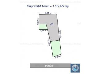 Vila cu 4 camere de vanzare, zona Democratiei, 125.46 mp