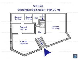 Spatiu comercial de inchiriat, zona Ultracentral, 148 mp