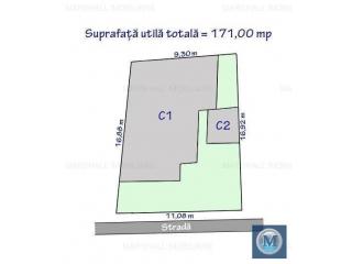 Casa cu 3 camere de vanzare, zona Traian, 89.73 mp