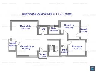 Apartament 3 camere de vanzare, zona Democratiei, 112.15 mp