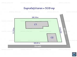 Teren intravilan de vanzare, zona B-dul Bucuresti, 508 mp