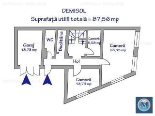 Vila cu 11 camere de vanzare, zona Buna Vestire, 280 mp