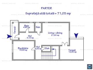 Vila cu 4 camere de vanzare, zona Albert, 135.05 mp
