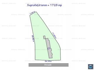 Teren intravilan de vanzare, zona Mihai Bravu, 1728 mp