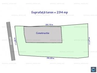 Teren intravilan de vanzare, zona Transilvaniei, 294 mp