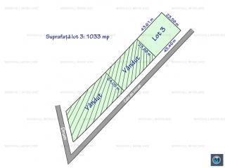 Teren intravilan de vanzare in Paulestii Noi, 1033 mp