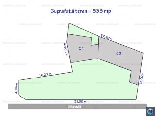 Teren intravilan de vanzare, zona Ana Ipatescu, 533 mp