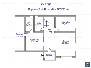 Vila cu 5 camere de vanzare in Paulesti, 173.90 mp