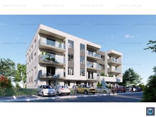 Apartament 2 camere de vanzare, zona Albert, 53.25 mp