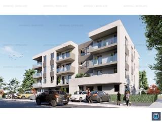 Apartament 2 camere de vanzare, zona Albert, 56.43 mp