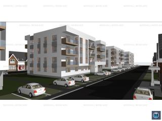Apartament 3 camere de vanzare, zona Albert, 65.81 mp
