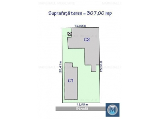 Vila cu 6 camere de vanzare, zona Central, 154.19 mp
