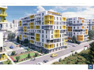 Apartament 3 camere de vanzare, zona Central, 57.12 mp