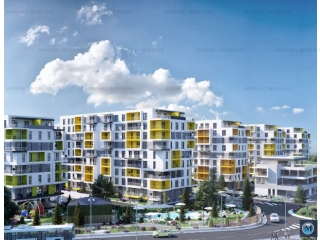 Apartament 2 camere de vanzare, zona Transilvaniei, 56.95 mp