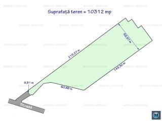 Teren intravilan de vanzare, zona Nord-Vest, 10312 mp