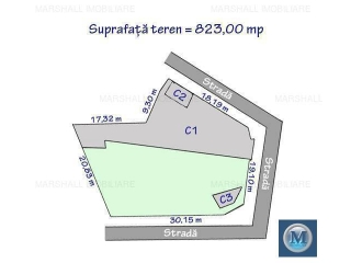 Spatiu  birouri de vanzare, zona Buna Vestire, 385.35 mp