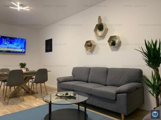 Apartament 2 camere de inchiriat, zona Albert, 61.2 mp