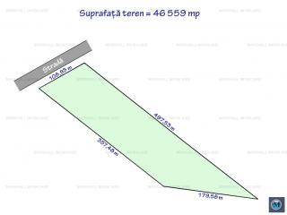 Teren intravilan de vanzare, zona Exterior Vest, 46559 mp