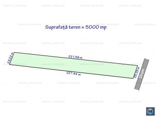 Teren extravilan de vanzare in Bighilin, 5000 mp