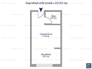 Garsoniera de vanzare, zona Exterior Est, 20.52 mp