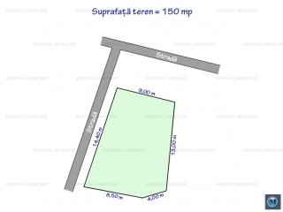 Teren intravilan de vanzare, zona Mihai Bravu, 150 mp
